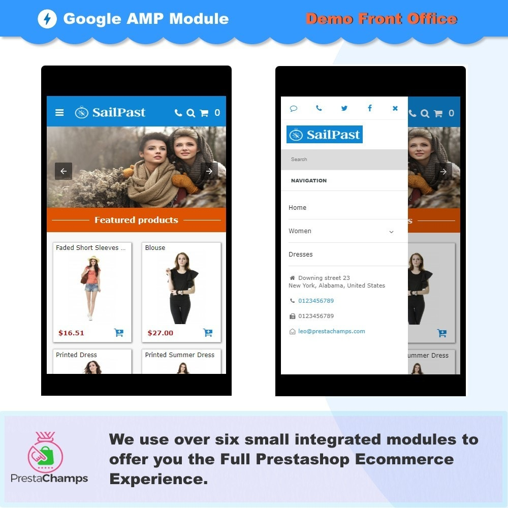 module - Website Performance - PROFESSIONAL AMP PAGES - ACCELERATED MOBILE PAGES - 5
