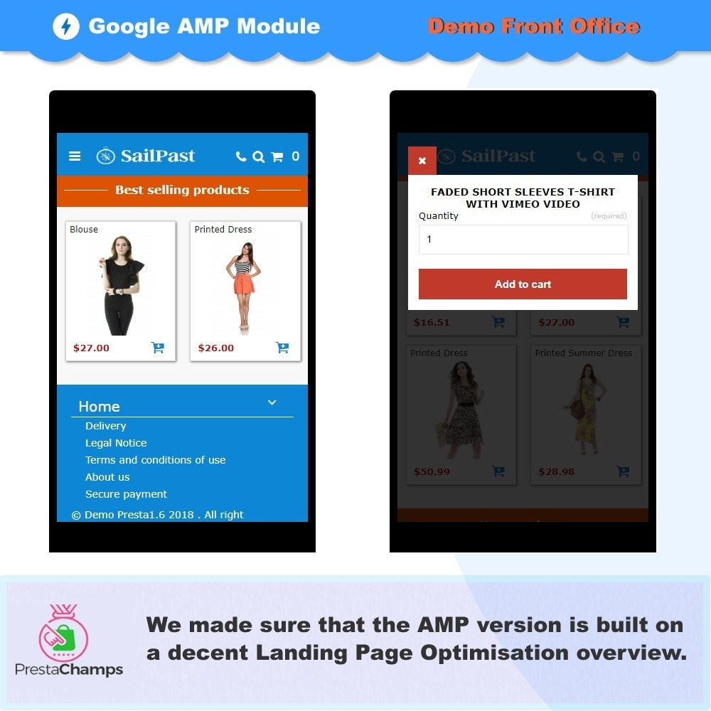 module - Performance - PROFESSIONAL AMP PAGES - ACCELERATED MOBILE PAGES - 3