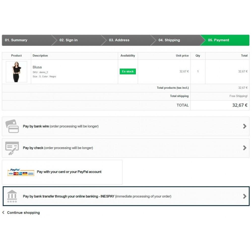 module - Overschrijving - Online Bank Transfer - 1