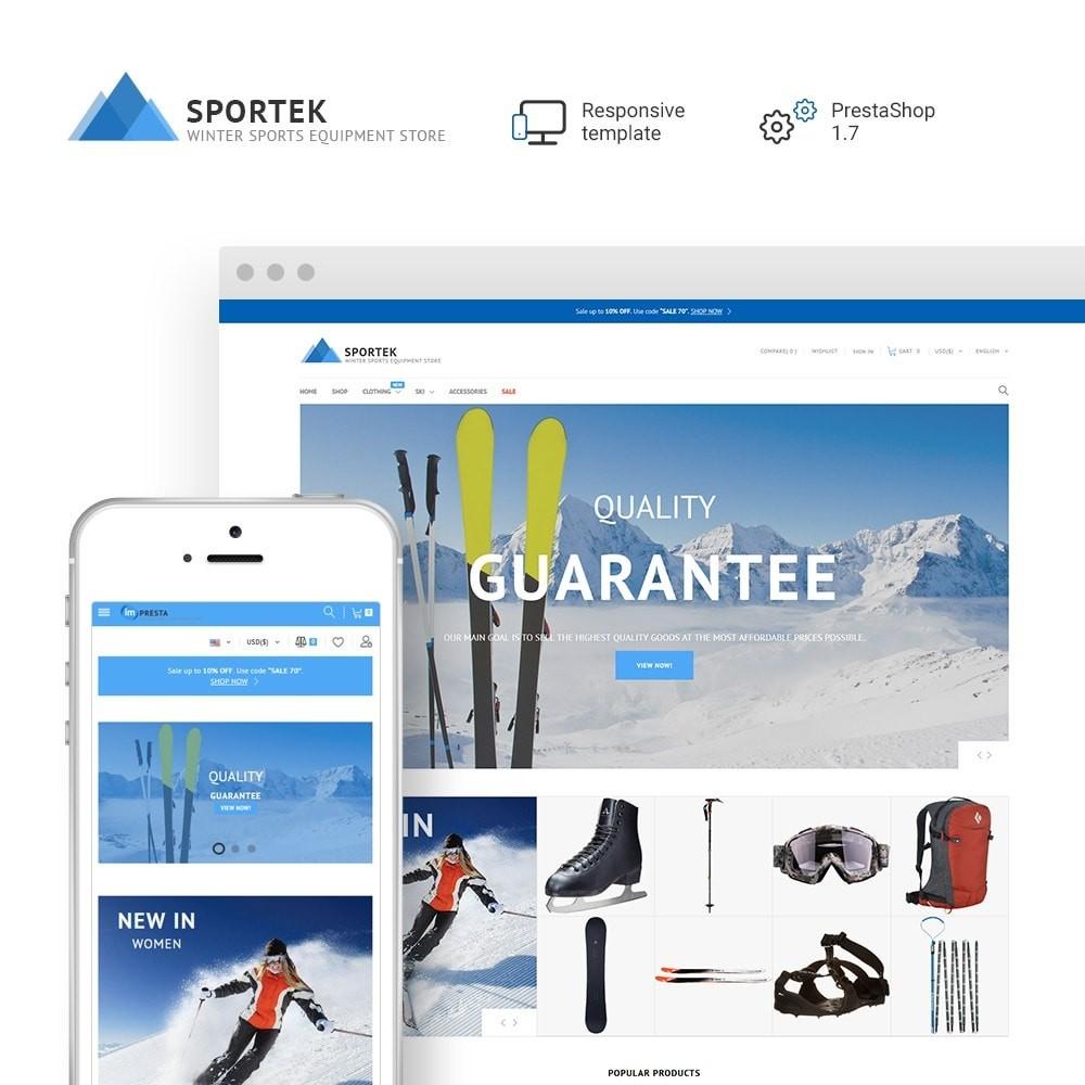 theme - Desporto, Actividades & Viagens - Sportek - Winter Sports Equipment Store - 1