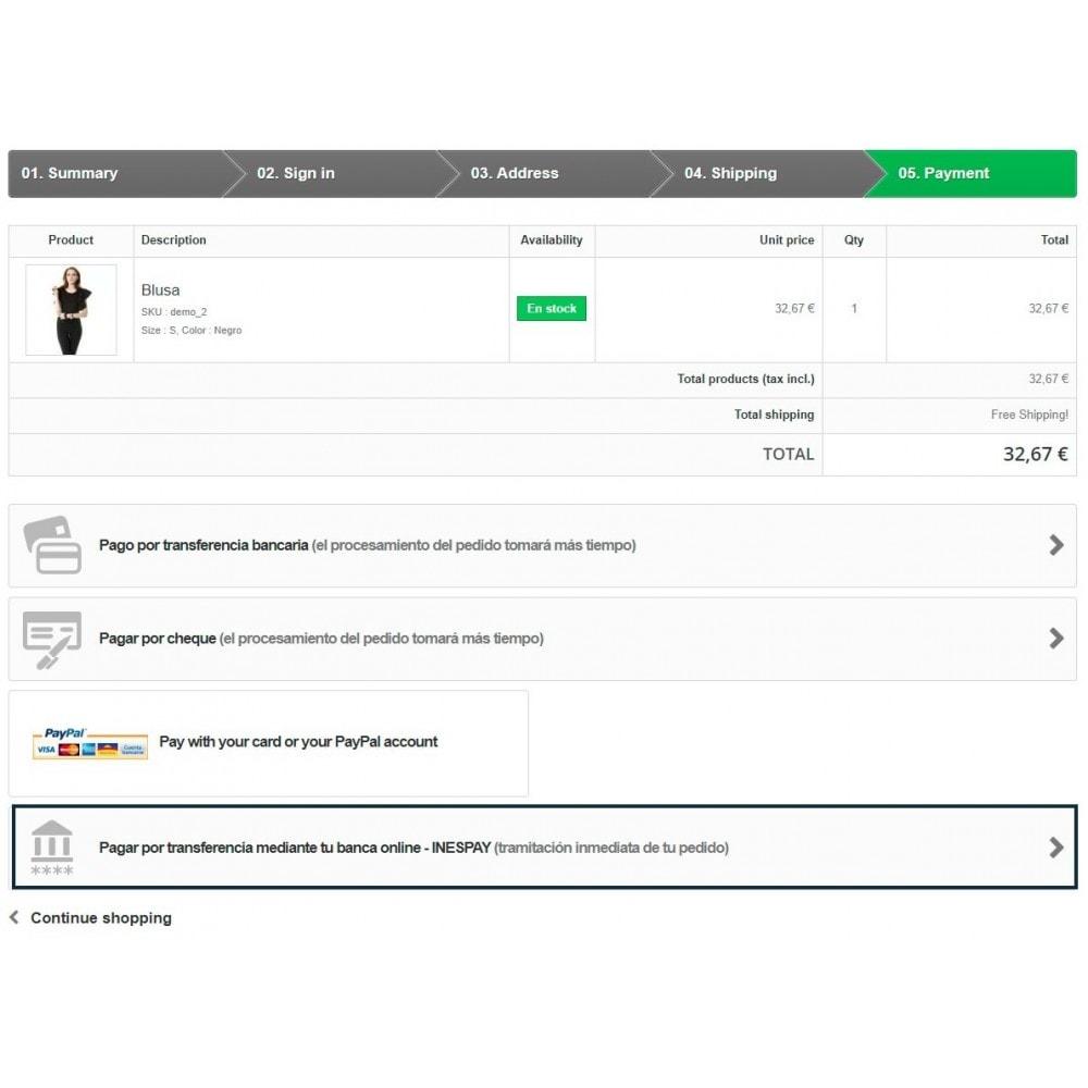 module - Pago por Transferencia - Transferencia Bancaria Online - 1