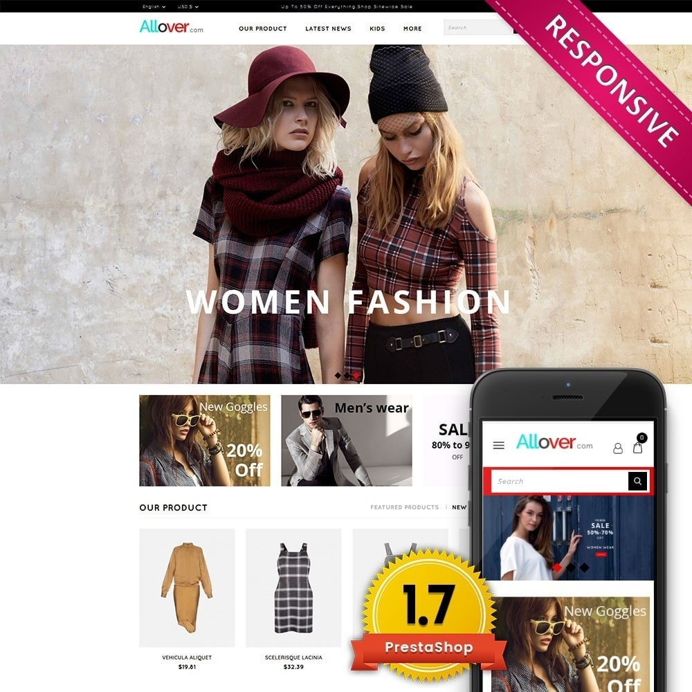 theme - Moda y Calzado - Allover Fashion Store - 1