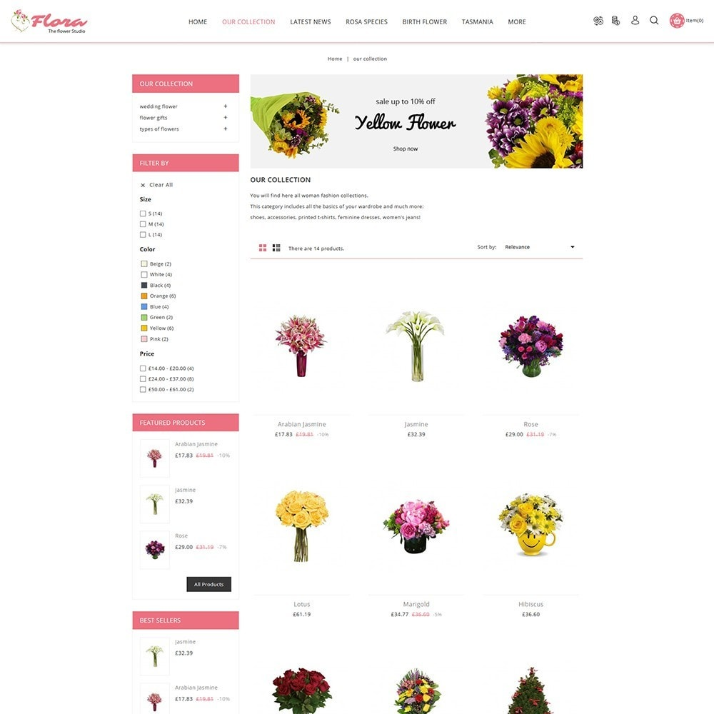 theme - Regali, Fiori & Feste - Flora Flower Shop - 4
