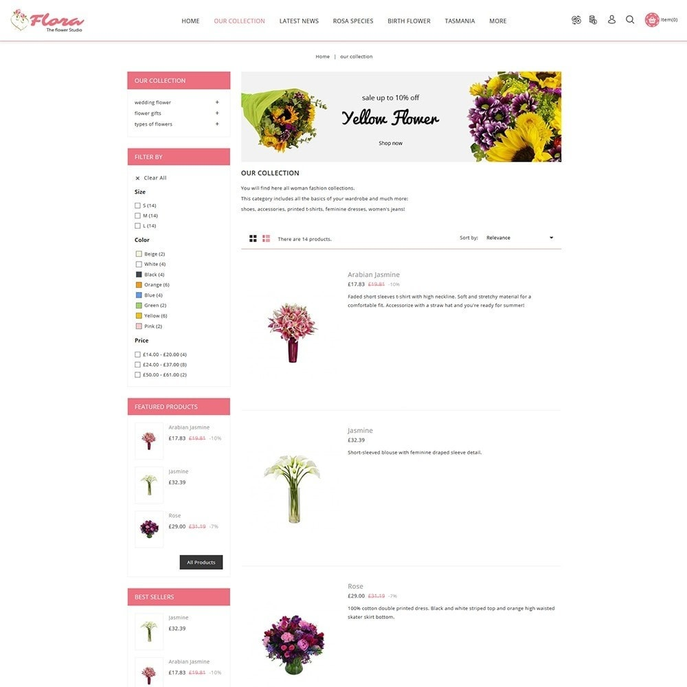 theme - Regali, Fiori & Feste - Flora Flower Shop - 5