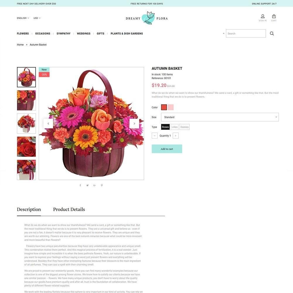 theme - Gifts, Flowers & Celebrations - Flower - Dreamy Flora - 3