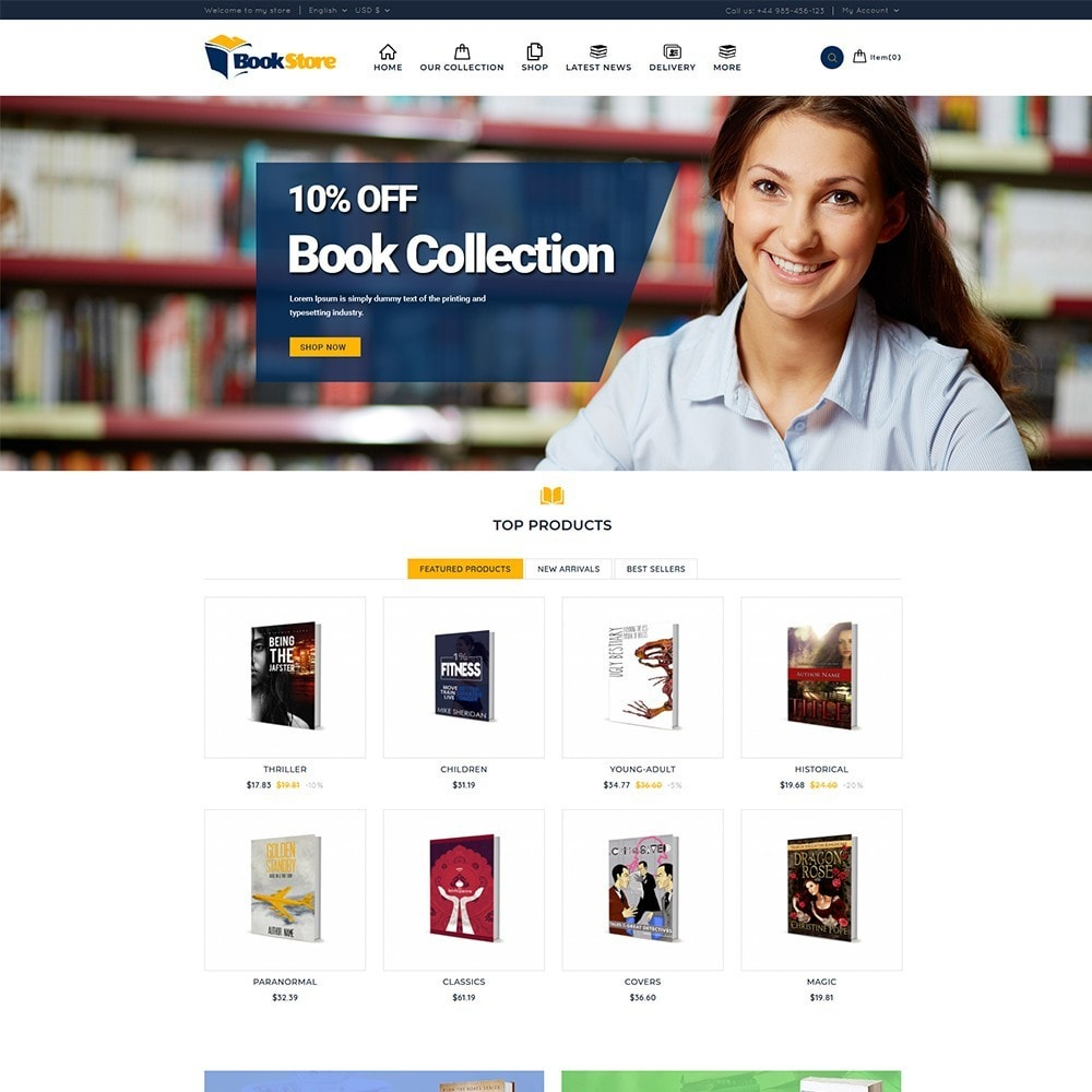 theme - Maison & Jardin - Book Store - 2