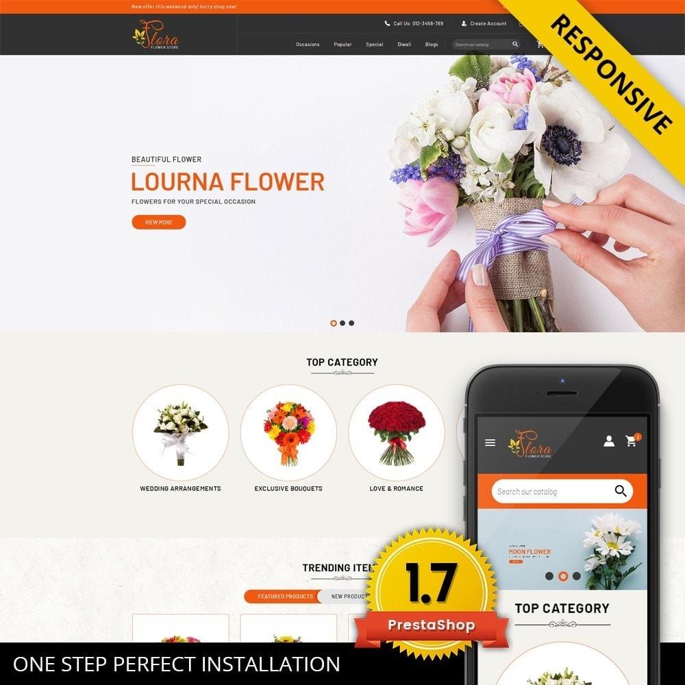 theme - Regalos, Flores y Celebraciones - Flora - Flower Store - 1