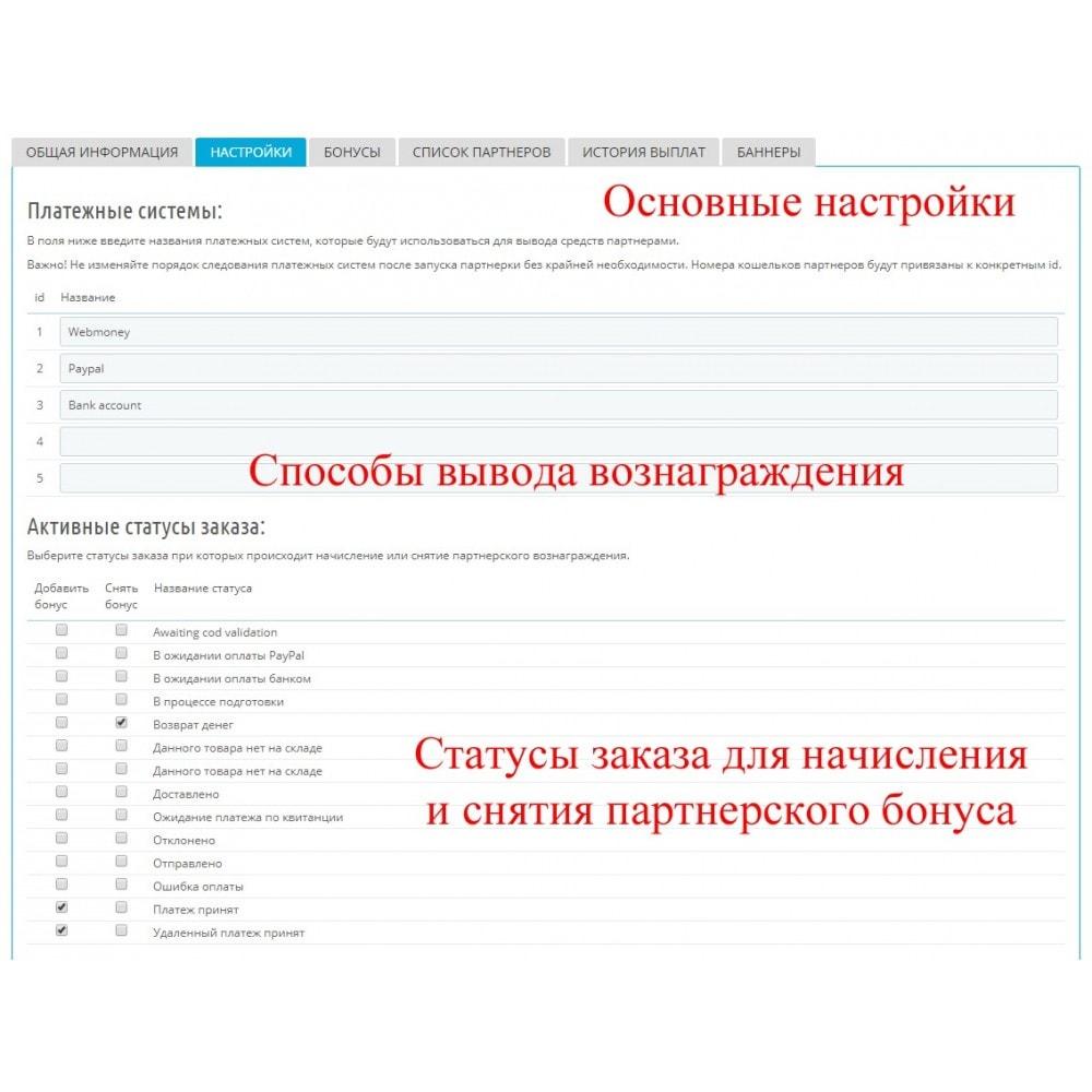 module - Платная поисковая оптимизация - Расширенная партнерская программа RefPRO - 3