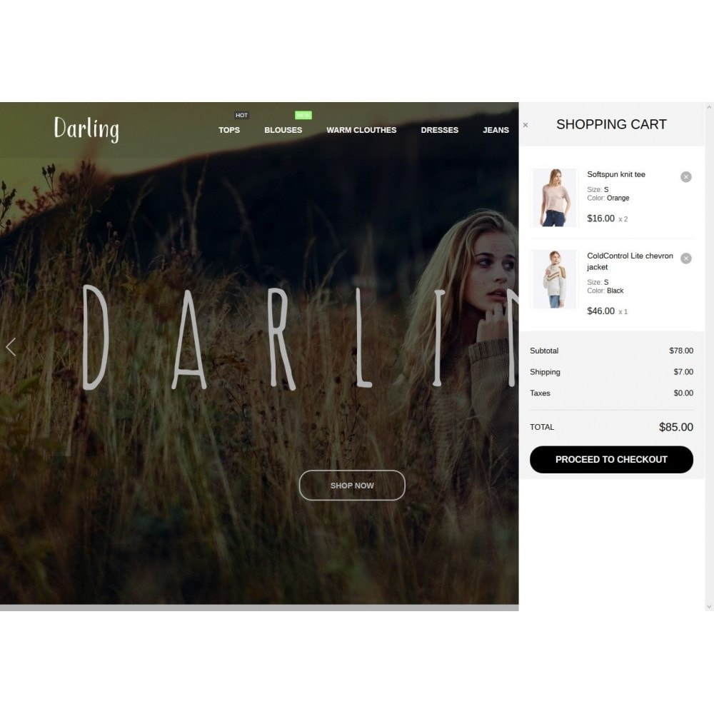 theme - Мода и обувь - Darling Fashion Store - 7