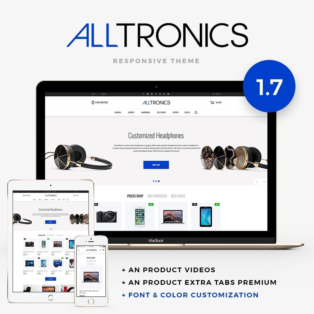 theme - Elektronika & High Tech - Alltronics - High-tech Shop - 1