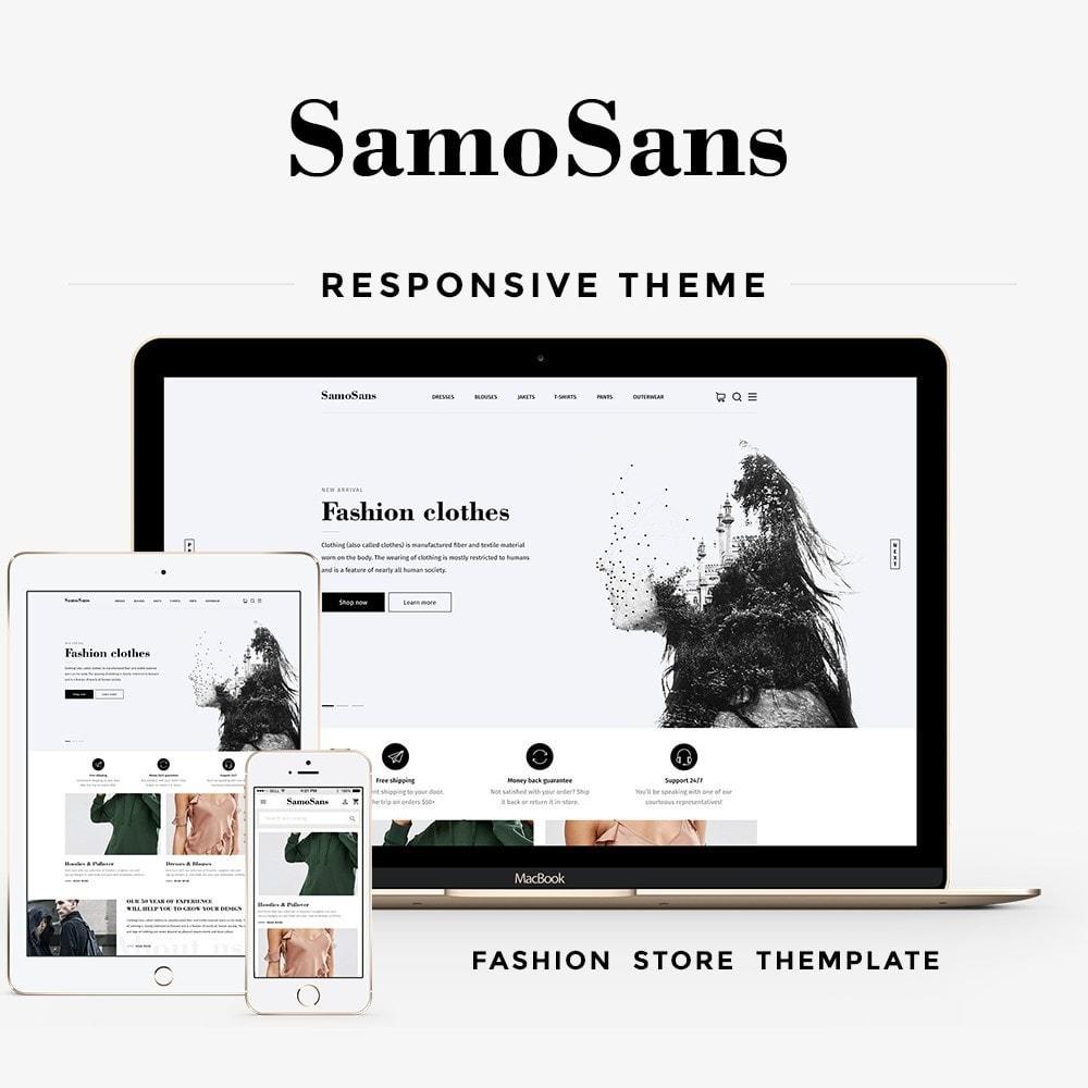 theme - Moda & Calçados - Samo Sans Fashion Store - 1