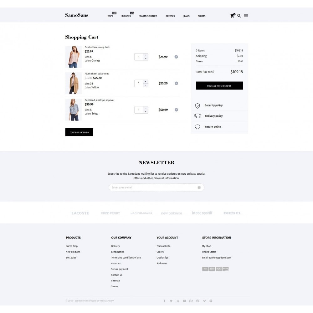 theme - Mode & Schuhe - Samo Sans Fashion Store - 10