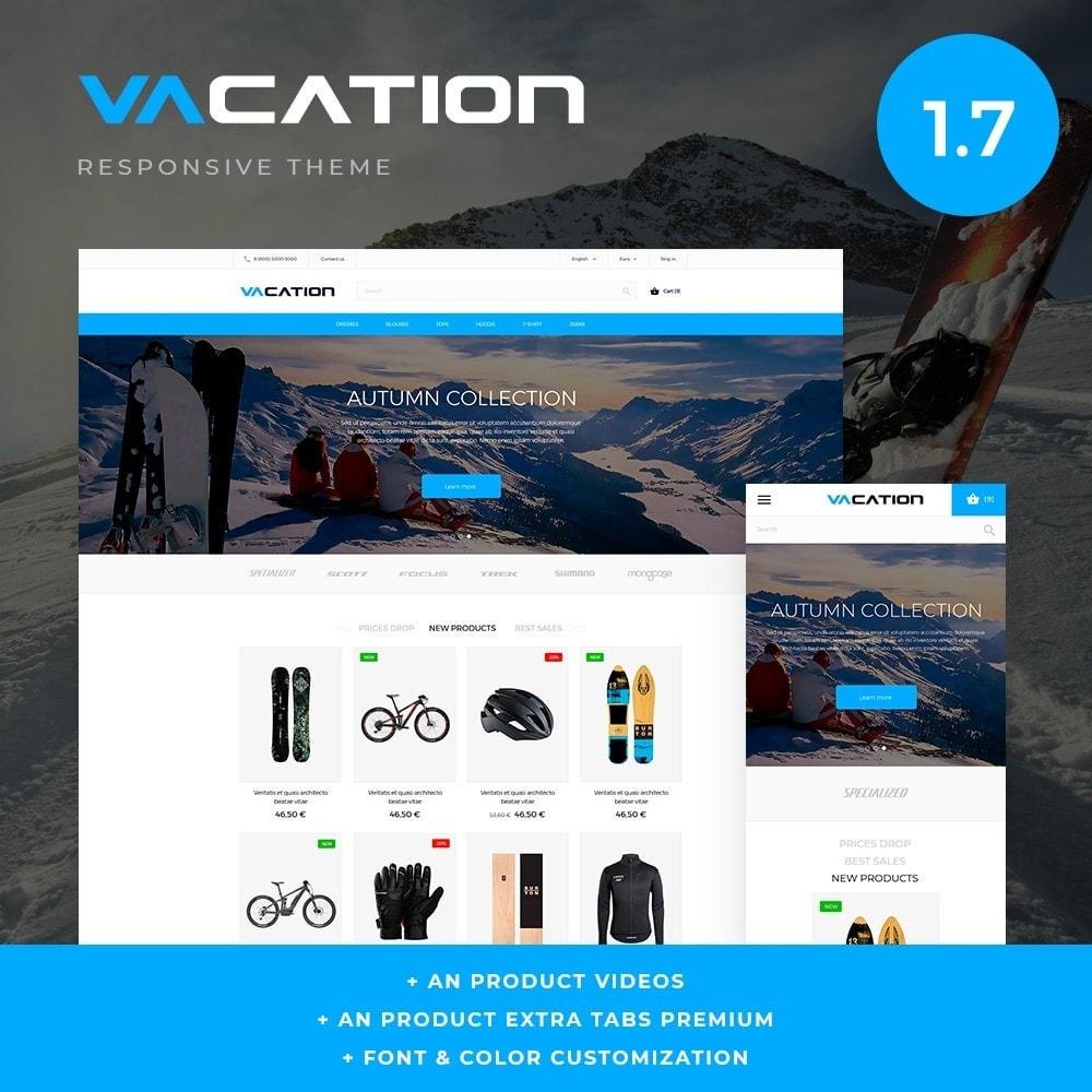 theme - Desporto, Actividades & Viagens - Vacation - 1