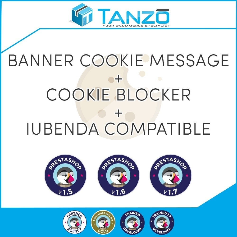 module - Marco Legal (Ley Europea) - EU Cookie Advise + Cookies blocker + Iubenda - 1