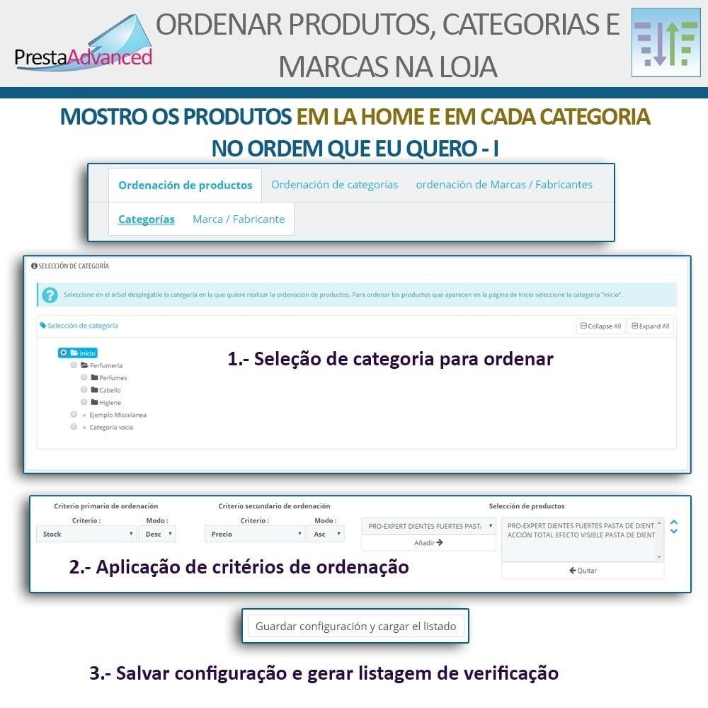 module - Personalização de página - Ordenar produtos, categorias e marcas na loja - 4