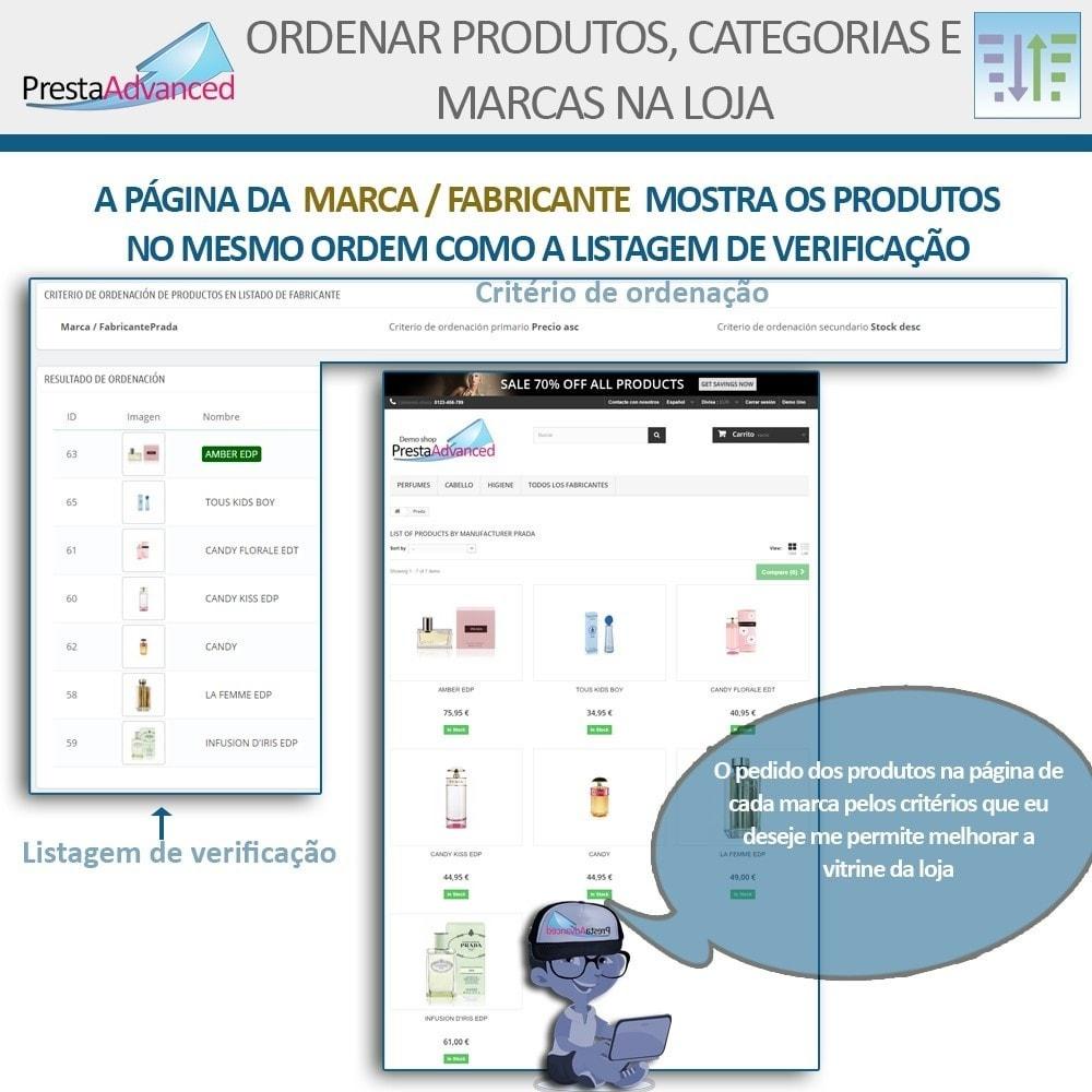 module - Personalização de página - Ordenar produtos, categorias e marcas na loja - 11