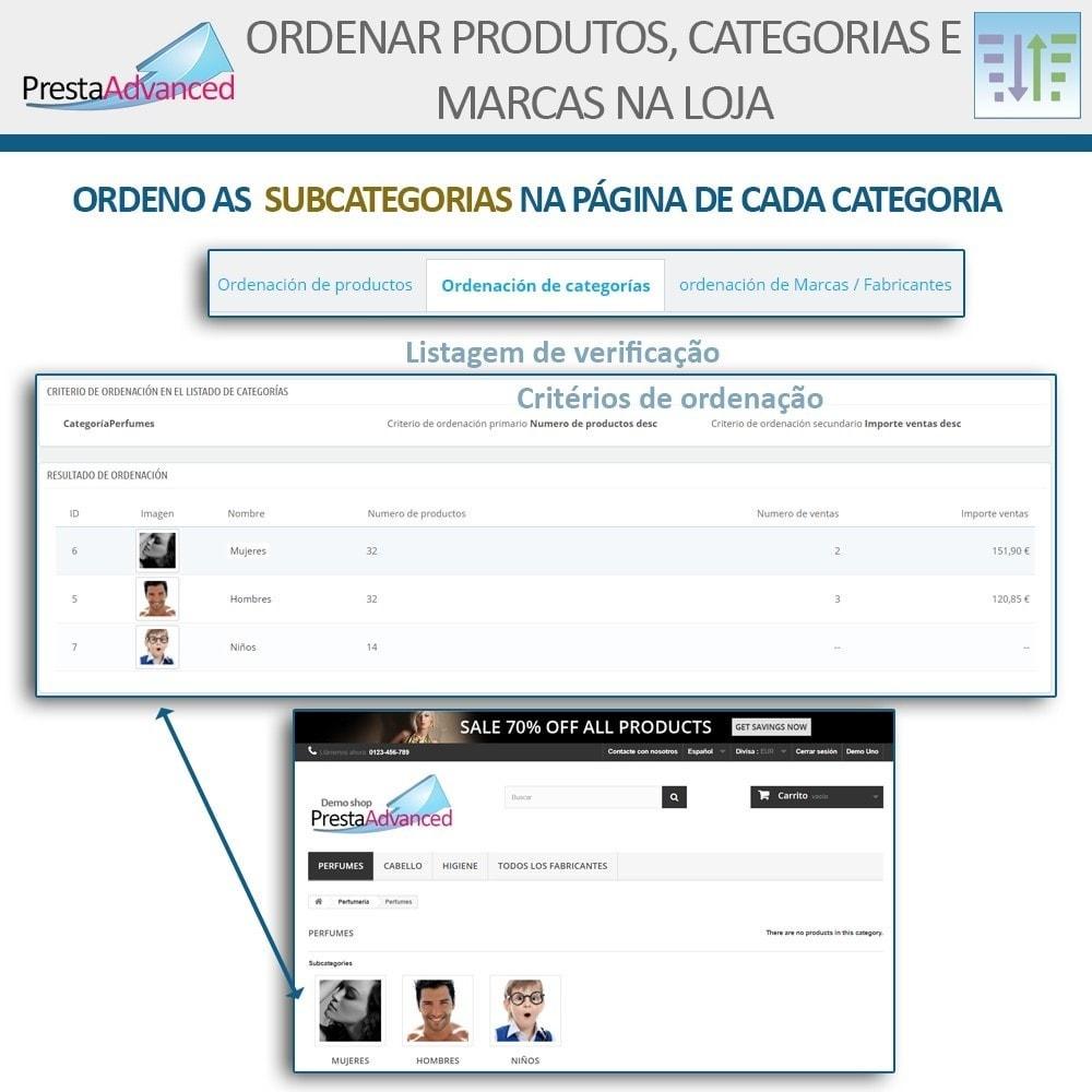 module - Personalização de página - Ordenar produtos, categorias e marcas na loja - 15