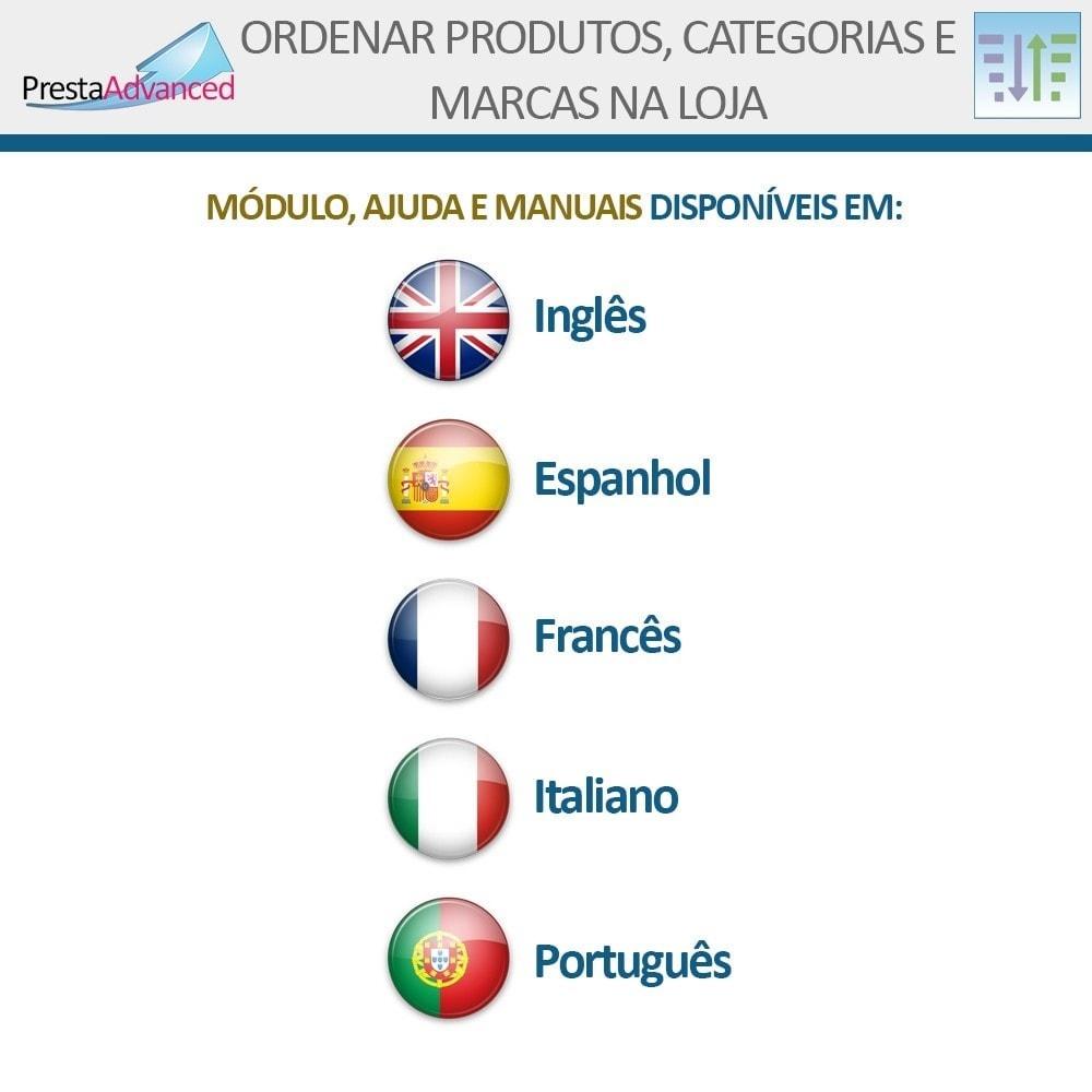 module - Personalização de página - Ordenar produtos, categorias e marcas na loja - 19