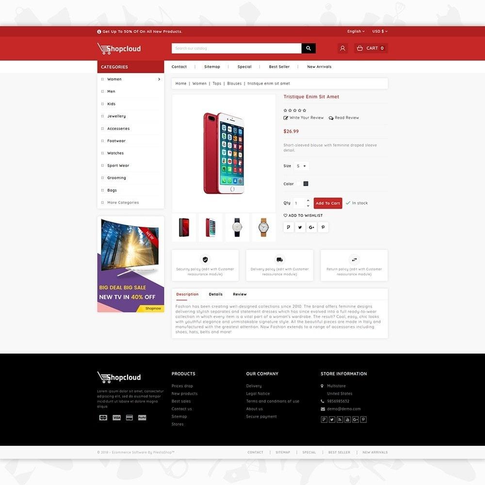 theme - Electrónica e High Tech - ShopCloud - The Electronics Store - 5