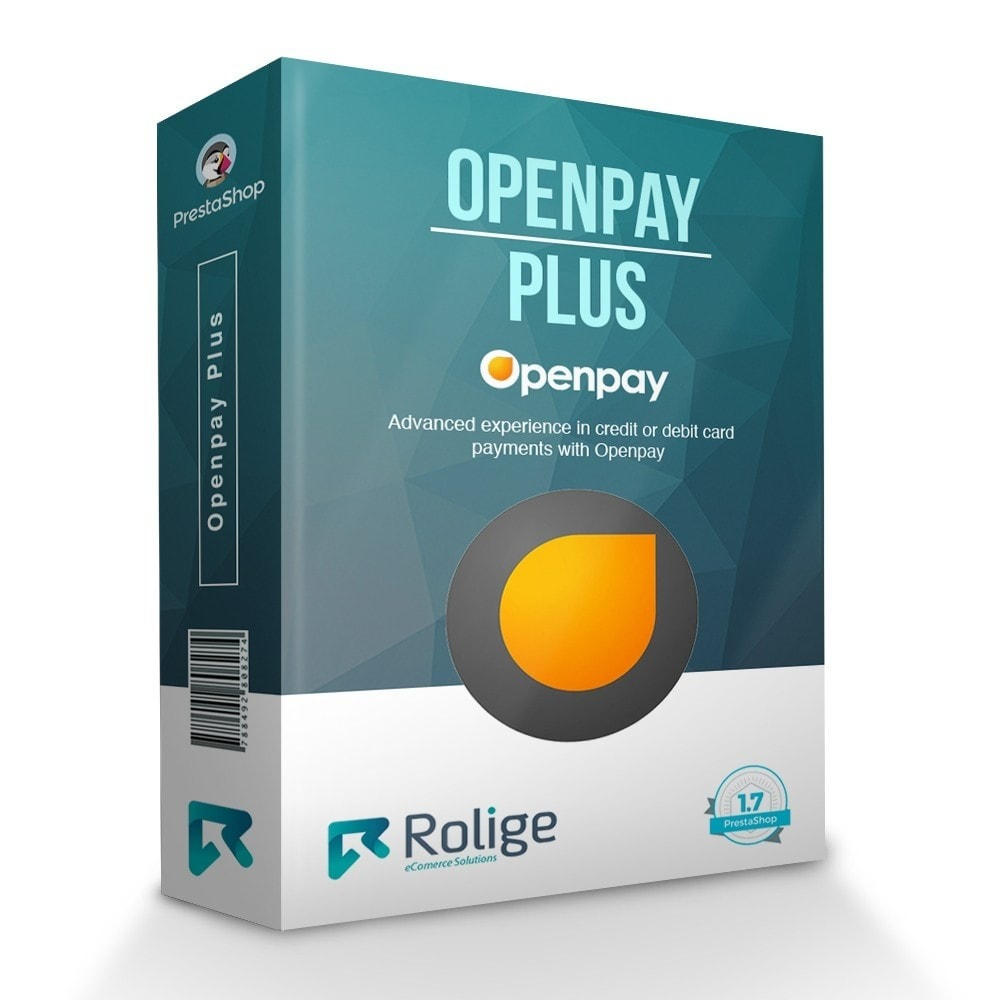module - Payment by Card or Wallet - Openpay Plus - 1