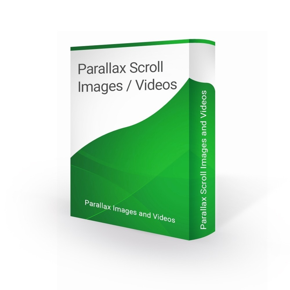 Parallax Background Scroll Images and Videos - PrestaShop