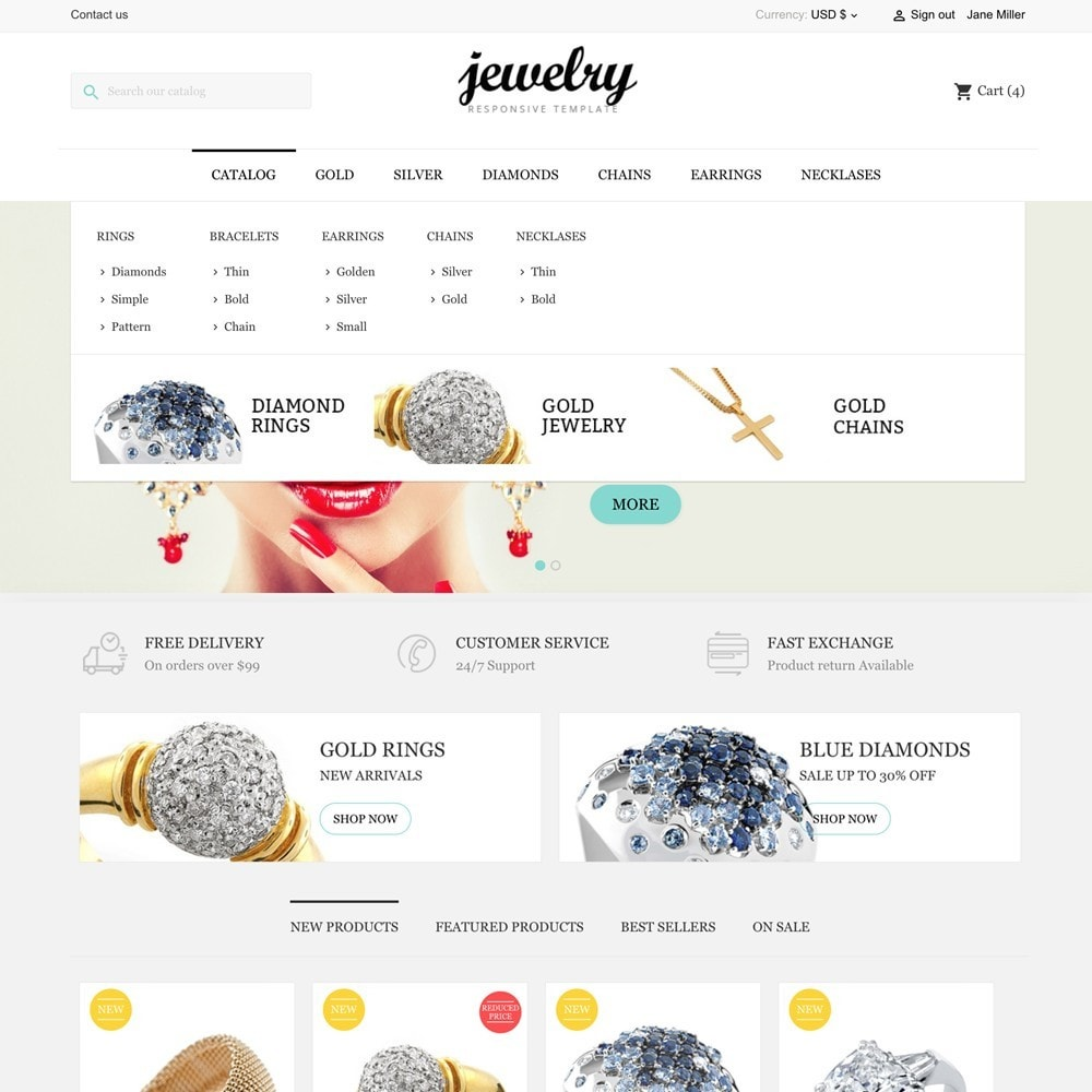 theme - Jewelry & Accessories - Jewelry Shop - 3