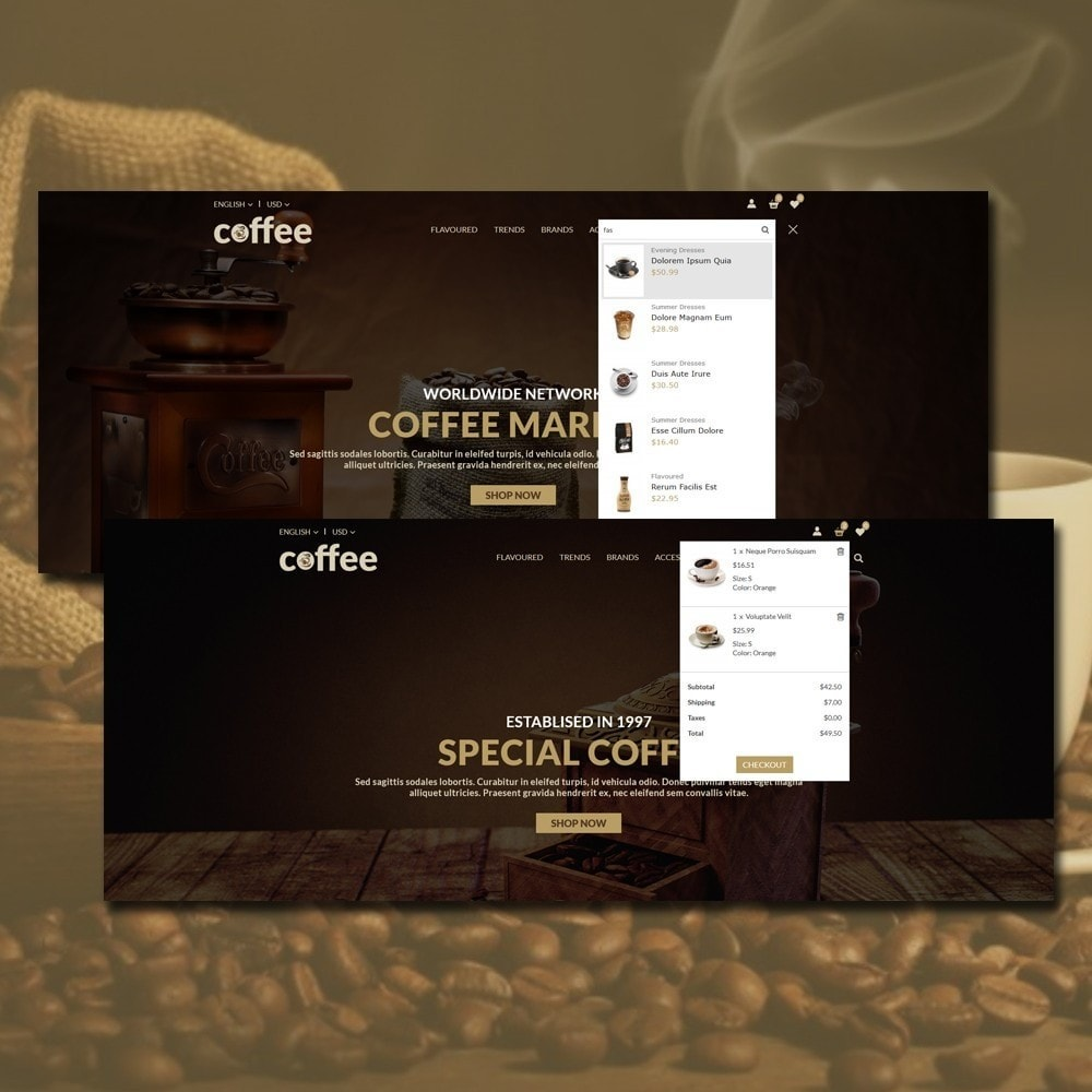 theme - Drink & Tobacco - Coffee Shop - 3