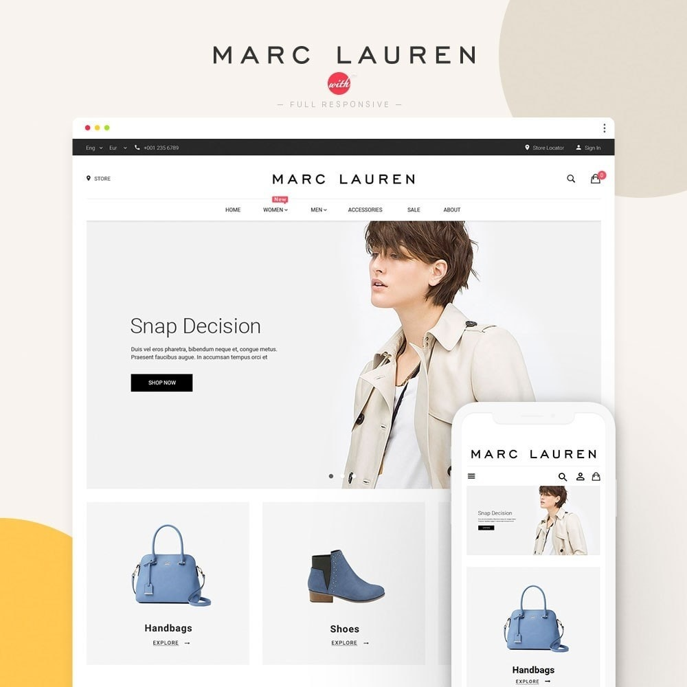 theme - Fashion & Shoes - Marc Lauren - 1