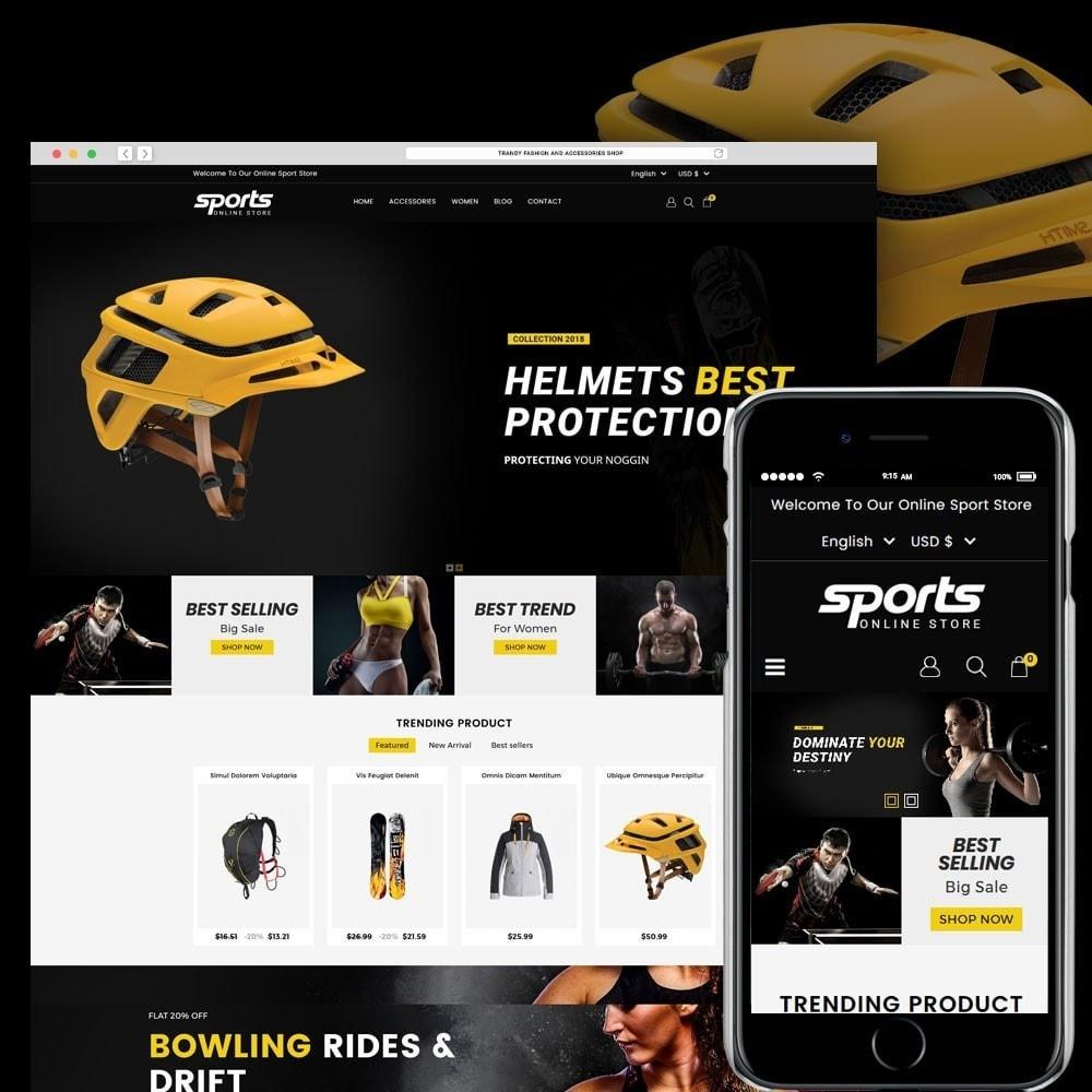 theme - Sport, Rozrywka & Podróże - Sports Store - 1