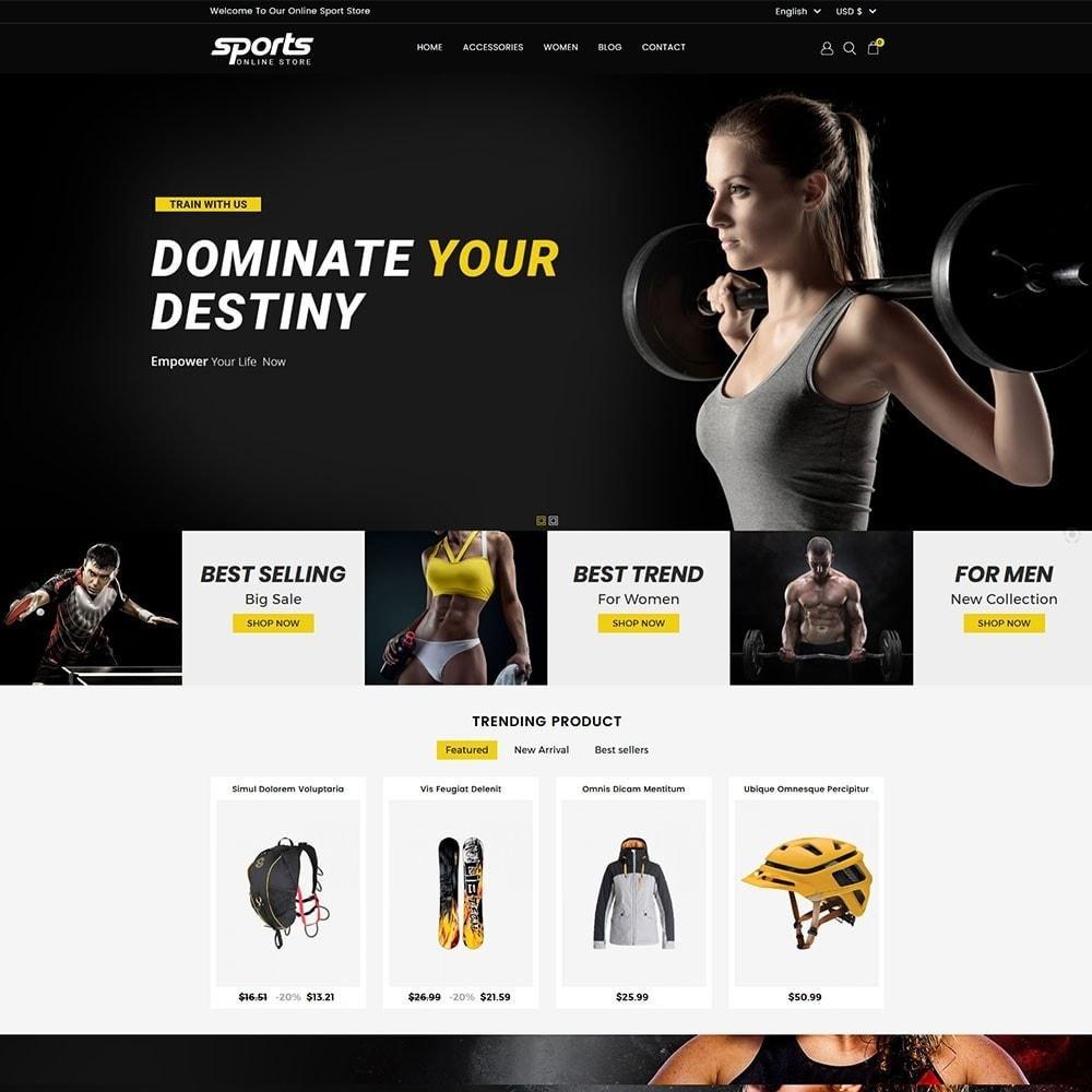 theme - Sport, Rozrywka & Podróże - Sports Store - 2