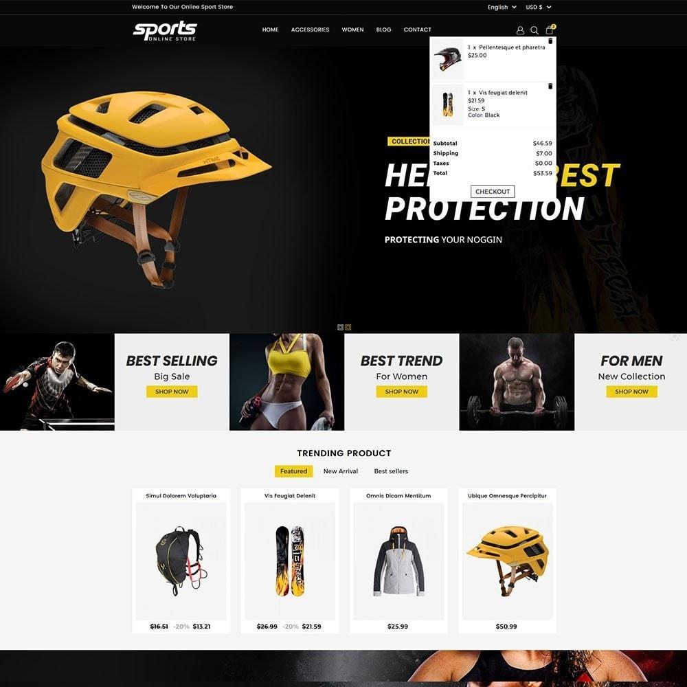 theme - Sport, Rozrywka & Podróże - Sports Store - 3