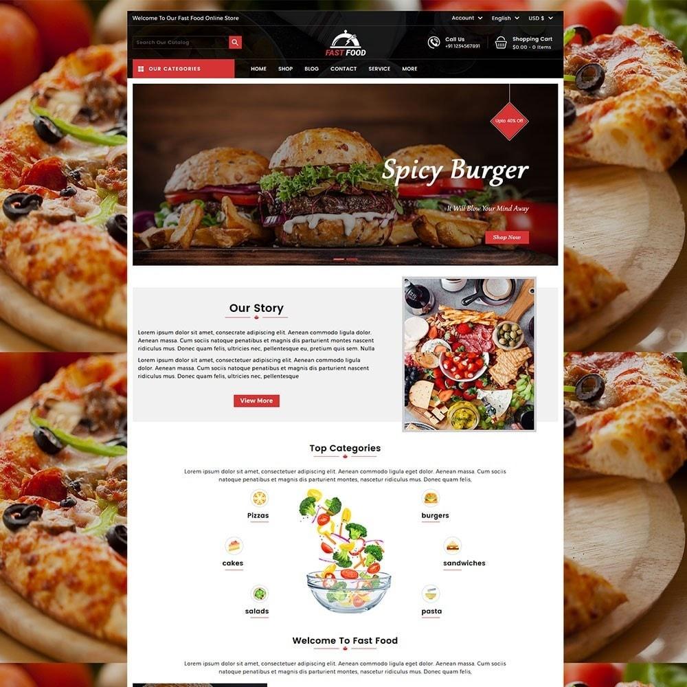 theme - Gastronomía y Restauración - Fast Food Store - 2