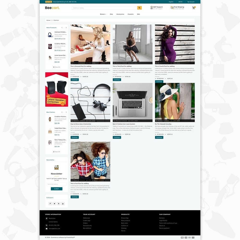 theme - Электроника и компьютеры - Beecart - The Electronics Store - 6