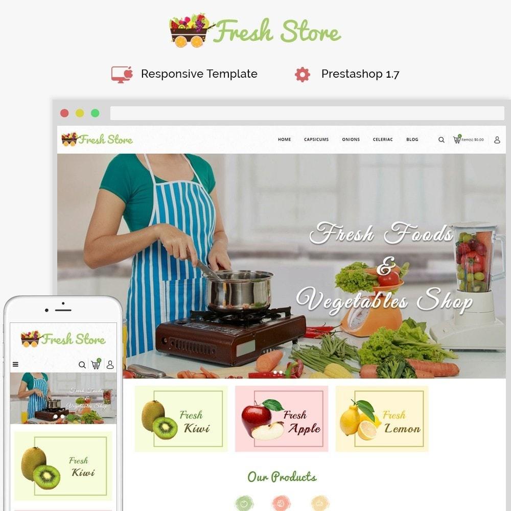 theme - Gastronomía y Restauración - Fresh Vegetables Store - 1