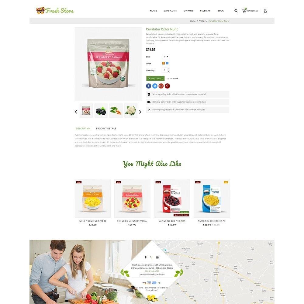 theme - Gastronomía y Restauración - Fresh Vegetables Store - 5