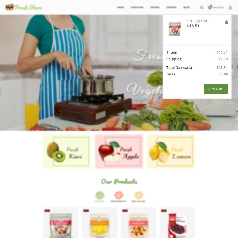 theme - Gastronomía y Restauración - Fresh Vegetables Store - 7