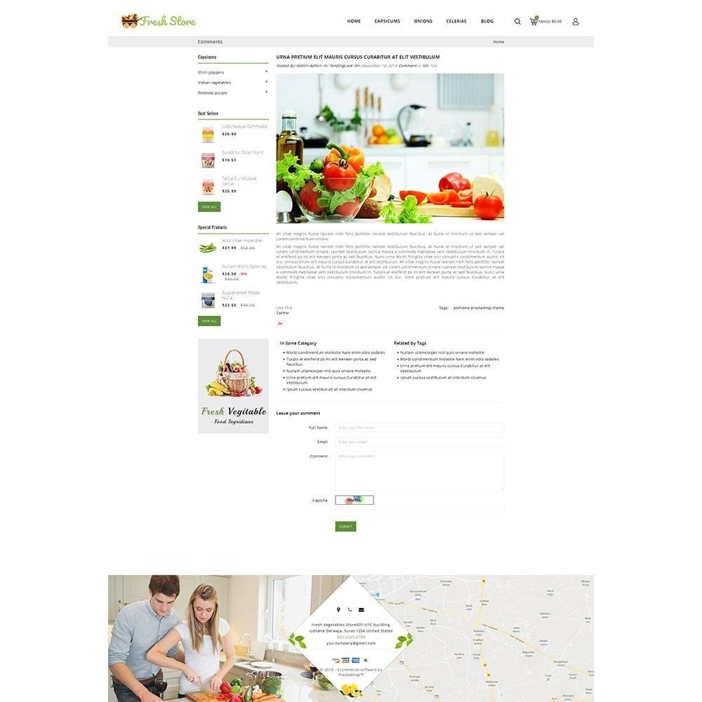 theme - Gastronomía y Restauración - Fresh Vegetables Store - 9