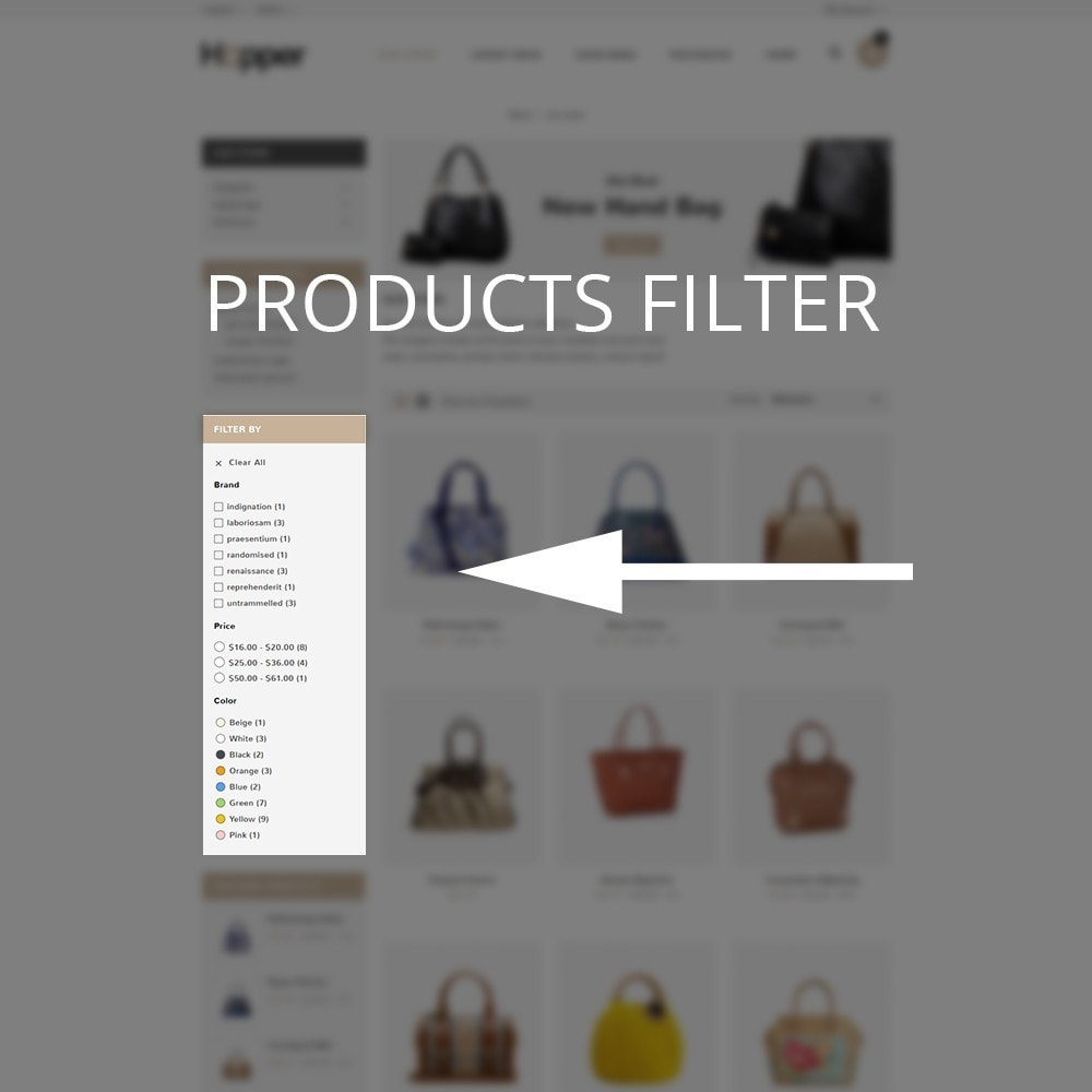 theme - Mode & Chaussures - Hopper Bag Store - 8