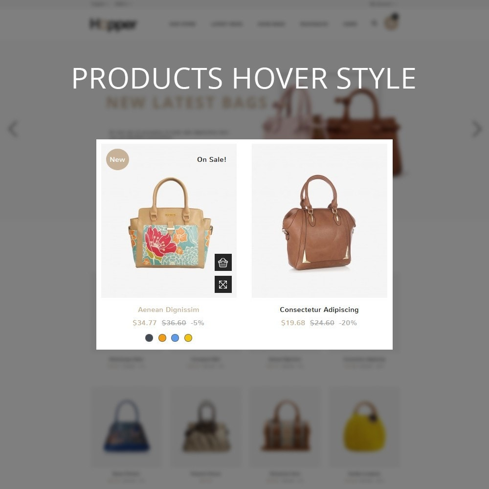 theme - Mode & Chaussures - Hopper Bag Store - 11