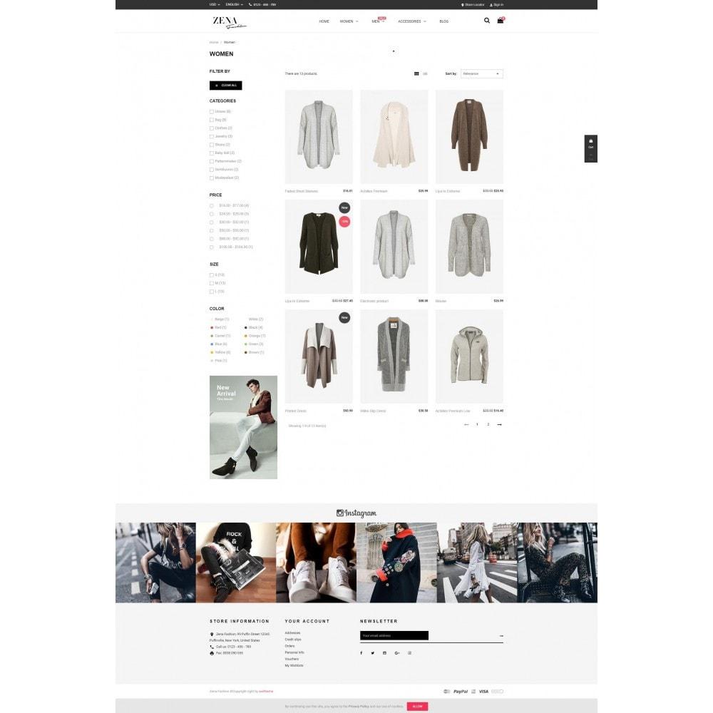 theme - Moda y Calzado - Zena Fashion - 3