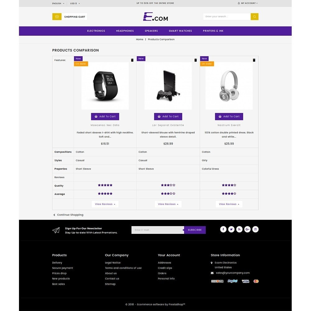 theme - Elektronica & High Tech - E-com Electronics Store - 9