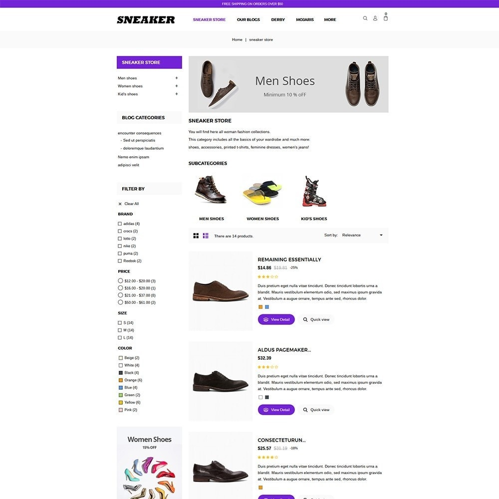 theme - Moda & Calçados - Sneaker Shoe Store - 4