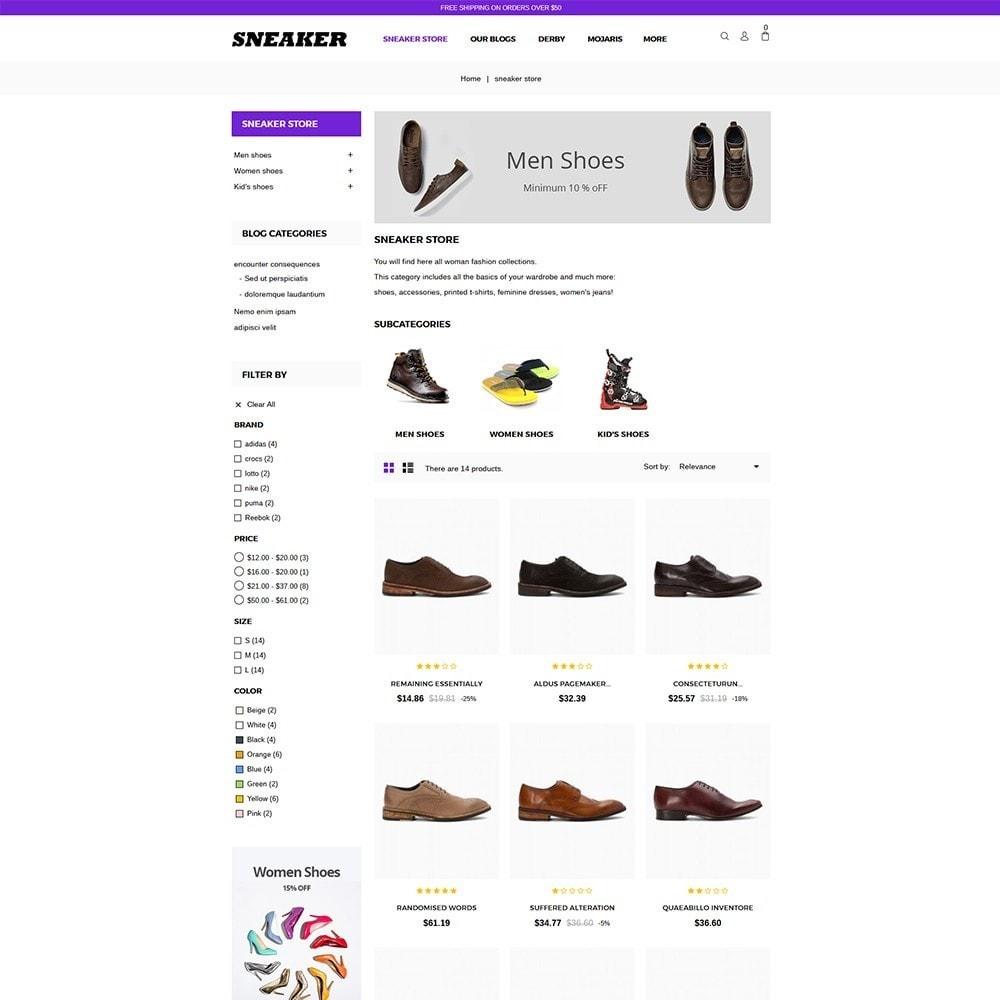 theme - Mode & Schoenen - Sneaker Shoe Store - 5