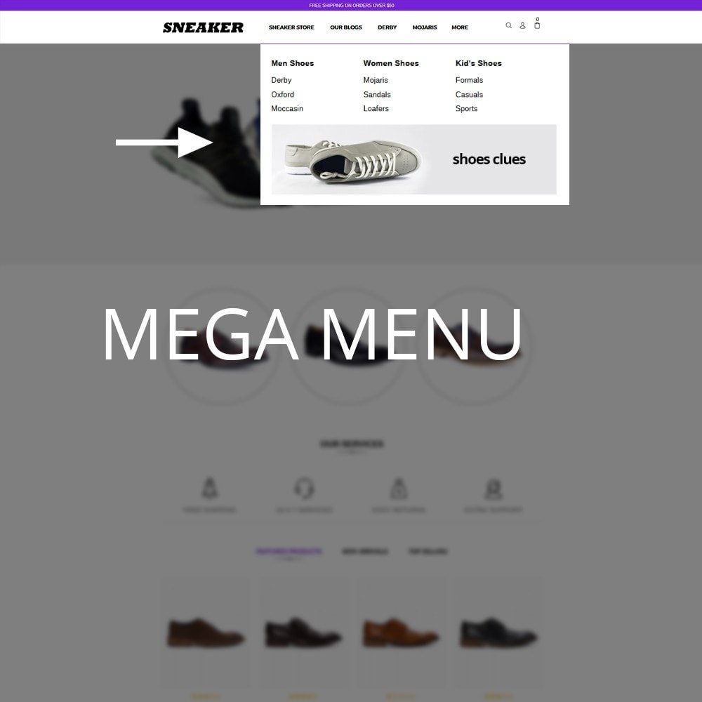 theme - Moda y Calzado - Sneaker Shoe Store - 8