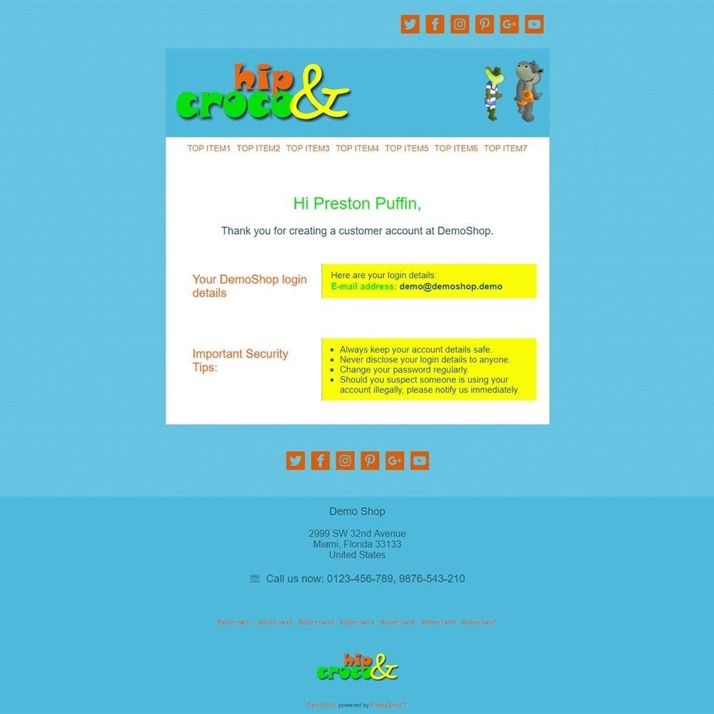 email - PrestaShop-E-Mail-Vorlagen - Hip And Croco - Email templates - 2