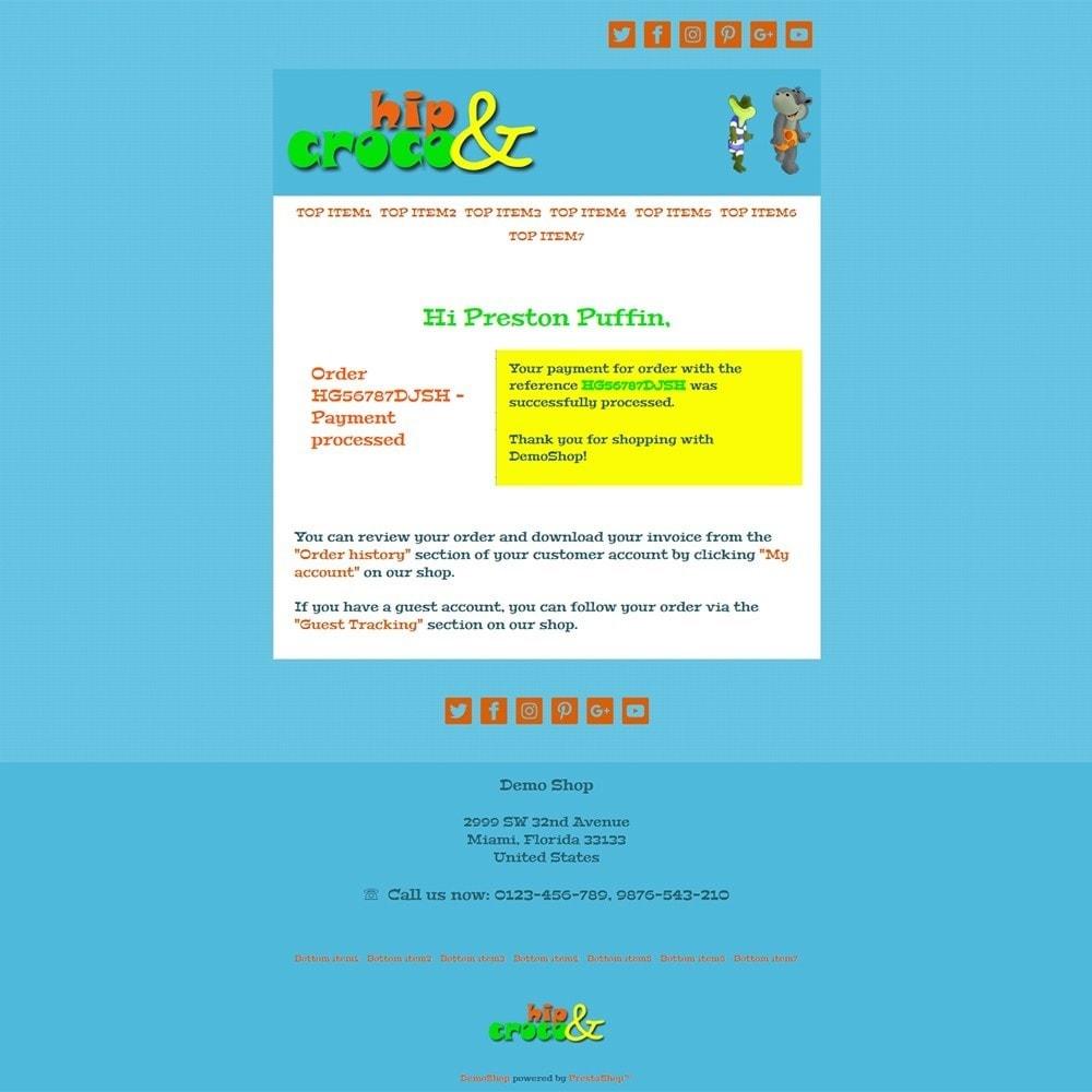 email - PrestaShop-E-Mail-Vorlagen - Hip And Croco - Email templates - 3