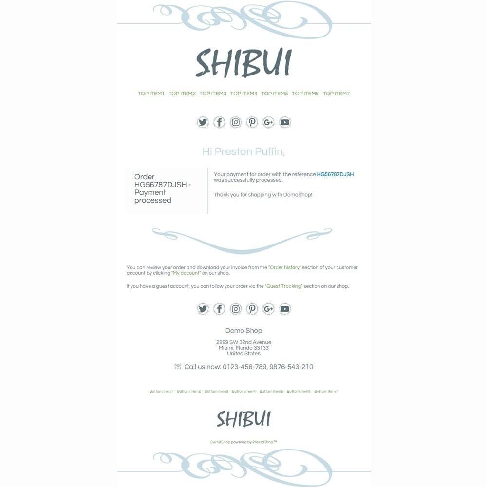 email - Szablony e-mail PrestaShop - Shibui - Email templates - 3