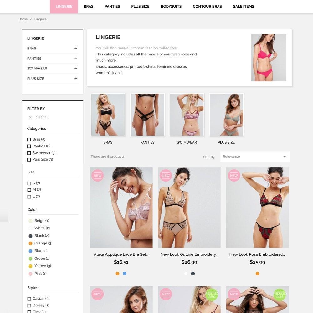theme - Lingerie & Adulte - Underwear Market - 5