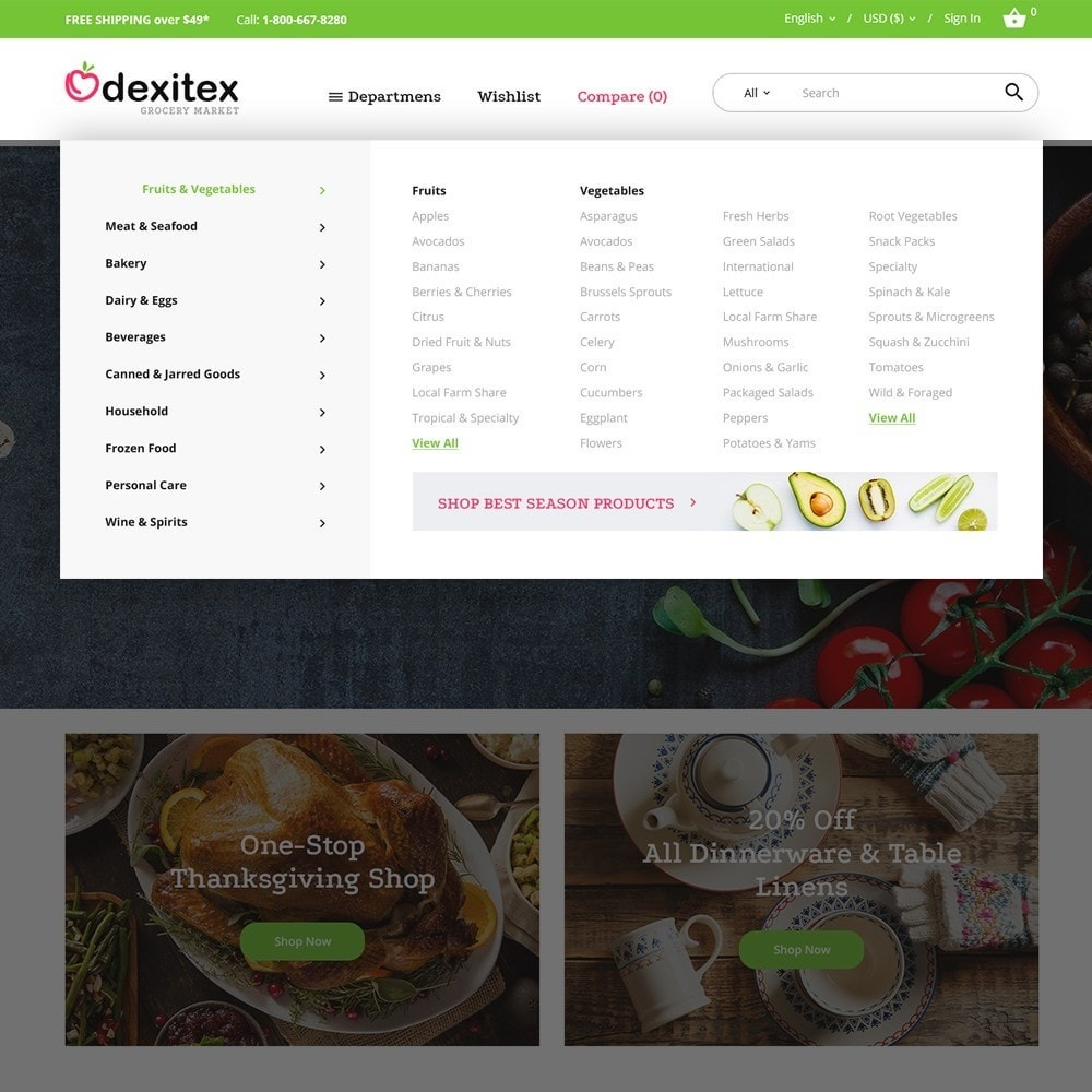theme - Lebensmittel & Restaurants - Dexitex - Grocery Market - 3