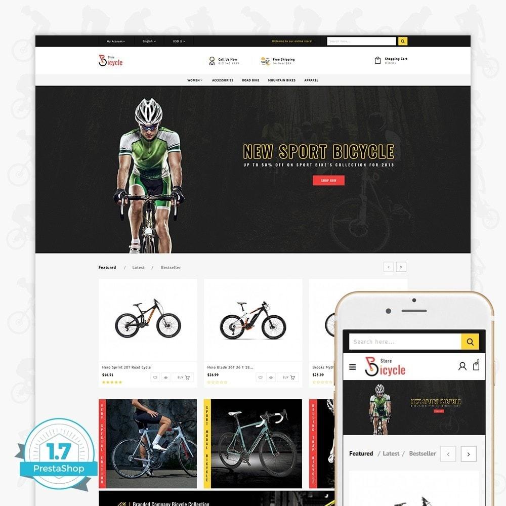 theme - Desporto, Actividades & Viagens - Bicycle Sports Store - 1